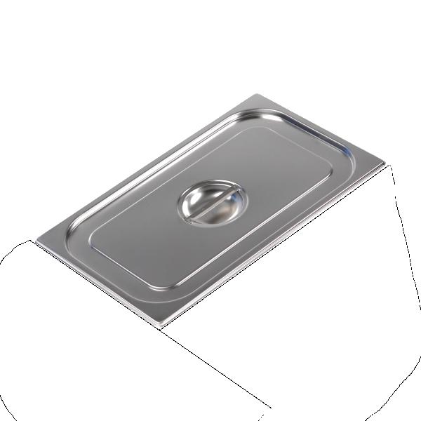 Крышка для гастроемкости из нержавеющей стали EWT INOX GN1/1